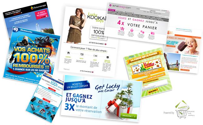 Photo de La startup du jour : Lucky Cart propose des jeux pour gagner sa commande chez les e-commerçants