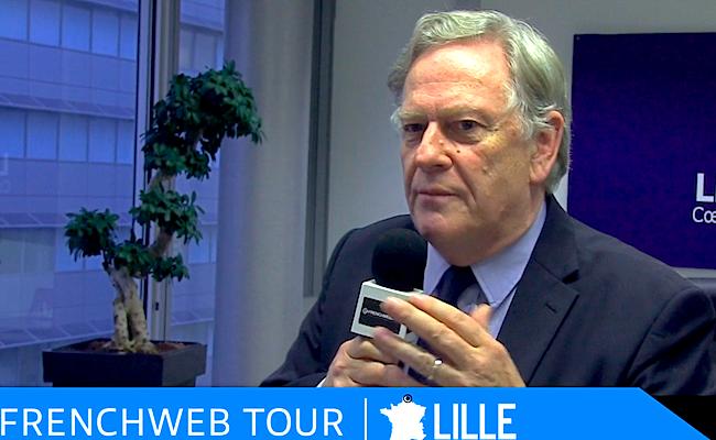 Photo de Pierre de Saintignon, premier adjoint au Maire de Lille:» Nous allons installer la première université de l'innovation»