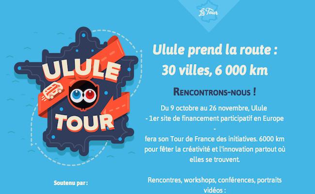 Photo de Ulule Tour: 6000 km et 30 villes parcourus pour évangéliser sur le crowdfunding