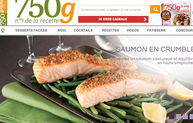 Photo de Le site culinaire 750g et le féminin Confidentielles.com rachetés par Webedia