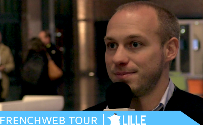 Photo de [FrenchWeb Tour Lille] Charles Cantineau, co-fondateur de TalentPlug, solution d'acquisition de talents