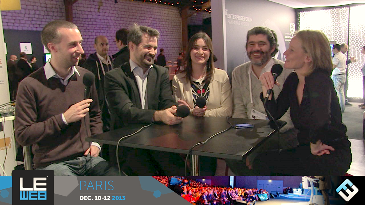 Photo de [LeWeb'13] Café de la presse « The next 10 years »