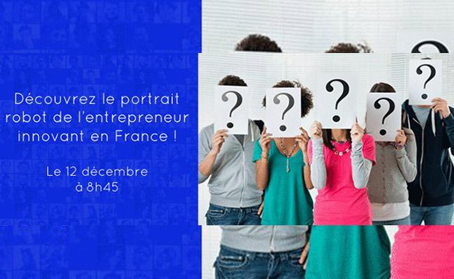 Photo de Découvrez le portrait robot de l'entrepreneur innovant en France !