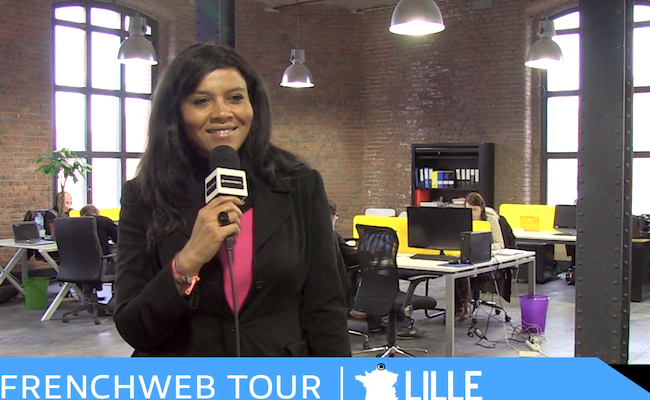 Photo de [FrenchWeb Tour Lille] Clic and Walk, solution de collecte de données marketing et commerciales