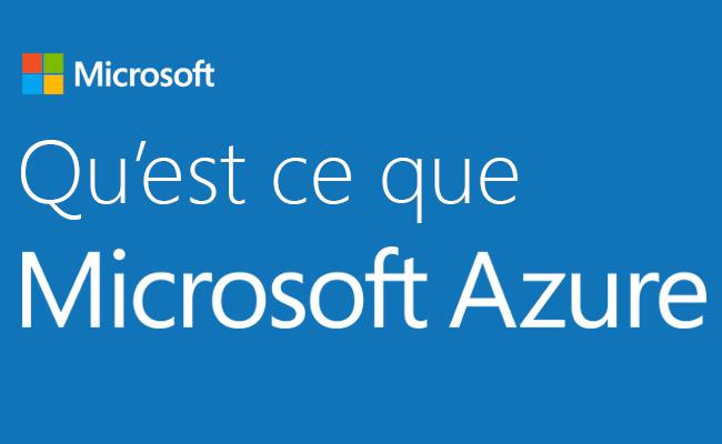 Photo de Qu'est ce que Microsoft Azure?