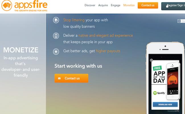 Photo de Appsfire arrête la recommandation d'applications : «notre avenir est dans le marketing mobile»