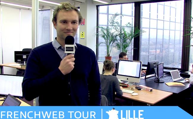 Photo de [FrenchWeb Tour Lille] Augustin Verlinde, co-fondateur de Frizbiz, plateforme de «jobbing»