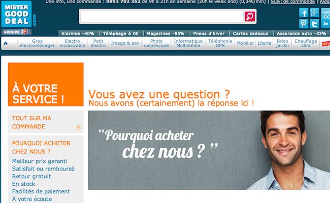 Photo de MisterGoodDeal racheté 1 euro : pourquoi l'e-commerce généraliste est en difficulté