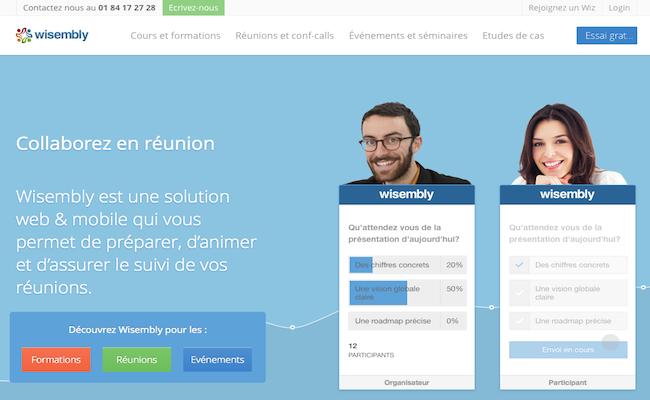 Photo de La startup du jour : Wisembly, une solution pour dynamiser ses réunions