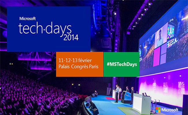 Photo de Microsoft TechDays'14