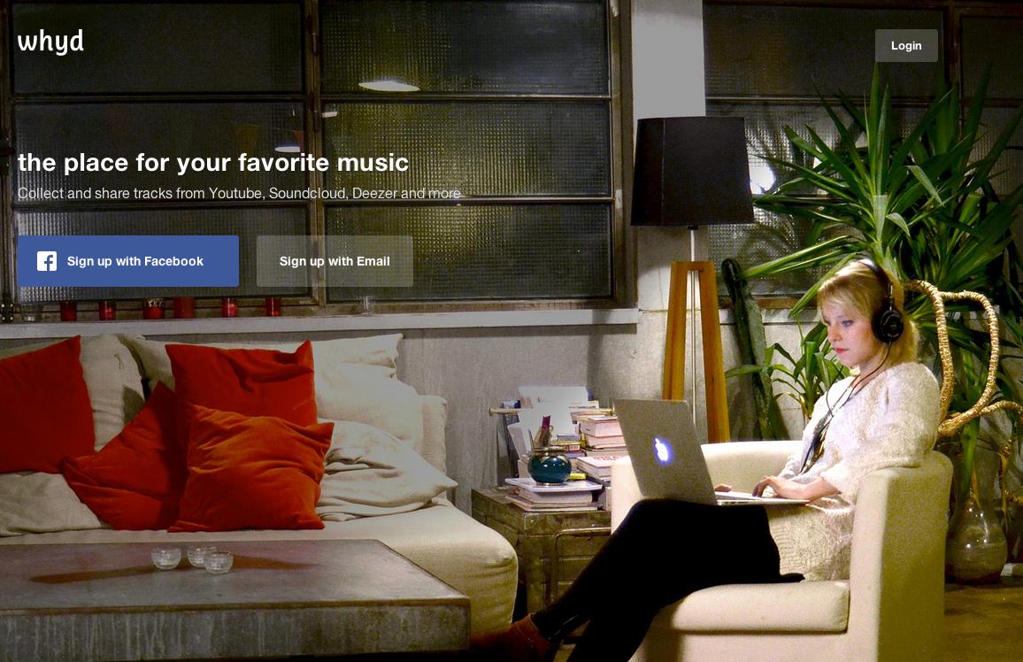 Photo de Lancement de Whyd : «On veut créer le Pocket de la musique»