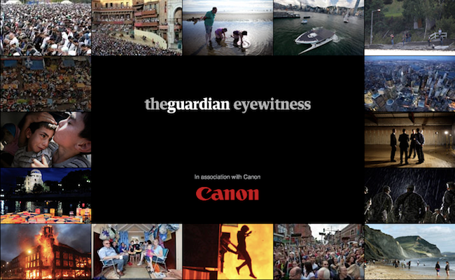 Photo de [Bon App'] The Guardian Eyewitness, quand les photojournalistes témoignent de l'info