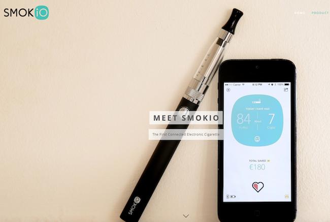 Photo de La startup du jour : Smokio, une cigarette électronique connectée à votre smartphone