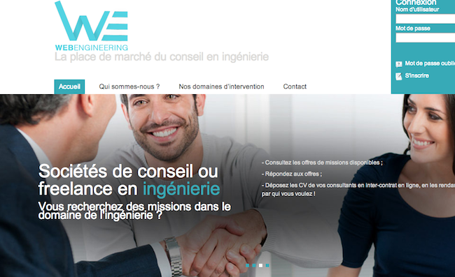 Photo de La startup du jour : WebEngineering, plateforme de mise en relation dans le conseil en ingénierie