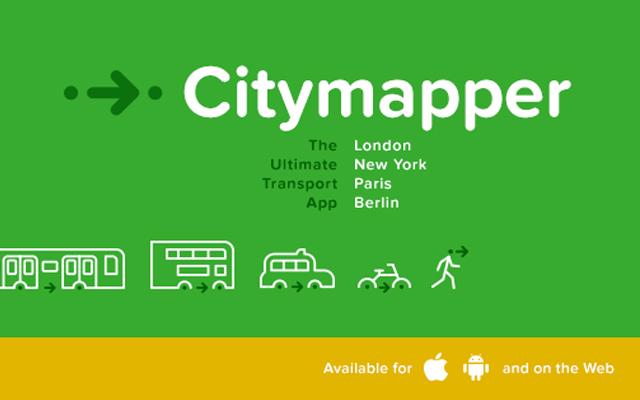 Photo de [Bon App'] Citymapper trouve le trajet le plus rapide avec les infos en temps réel du métro, des bus, des taxis…