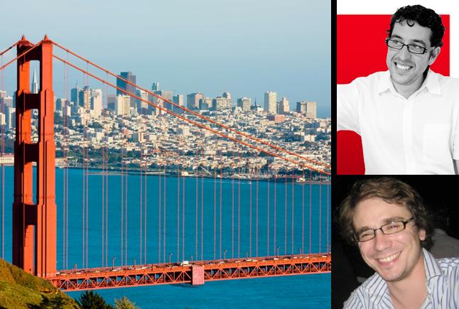 Photo de François Hollande à San Francisco: «J'aimerais lui montrer Heavybit, un incubateur pour les développeurs»