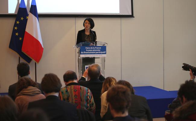 Photo de Fleur Pellerin : «avec cette réforme, nous voulons décrocher la médaille d'or du financement participatif»