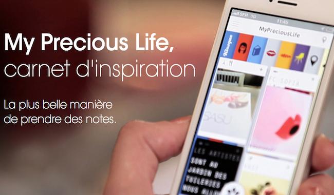 [Bon App'] My Precious Life, le carnet personnel pour ne rien oublier