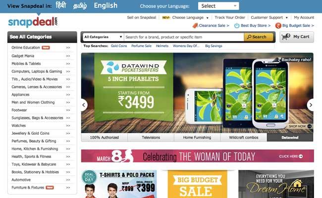 Photo de eBay réinvestit 98 millions d'euros dans l'indien Snapdeal
