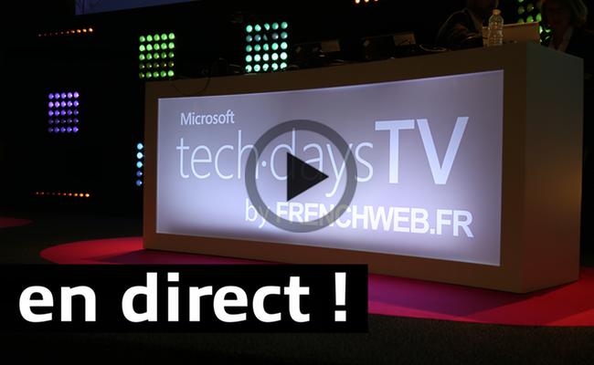 Photo de Techdays TV – 3 jours de direct exceptionnels