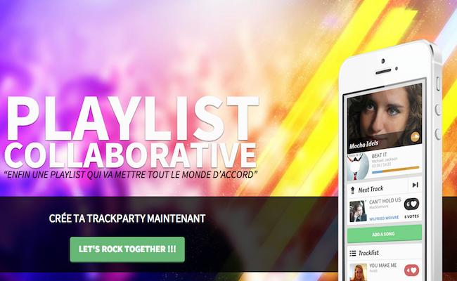 Photo de La start-up de la semaine : Track.tl, des playlists collaboratives pour vos soirées