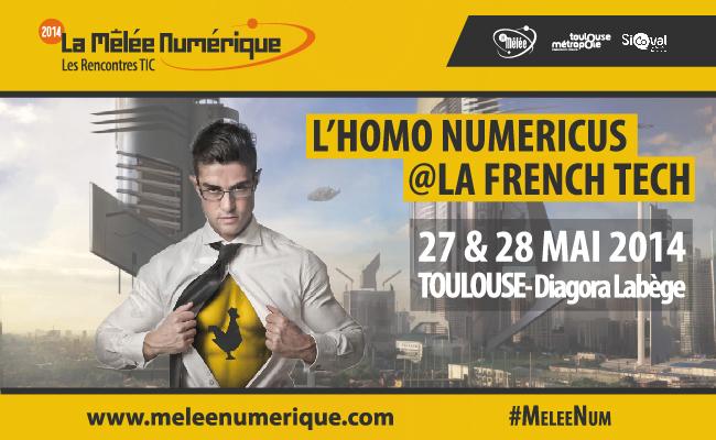 Photo de La Mêlée Numérique «L'Homo Numericus est là !»