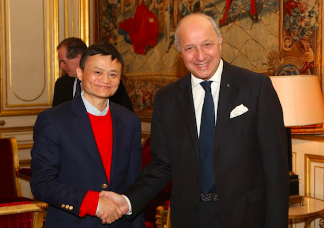 Photo de Ce qu'on ne vous a pas dit: Le patron d'Alibaba en visite discrète à Paris// PKM nominé Young Global Leader …