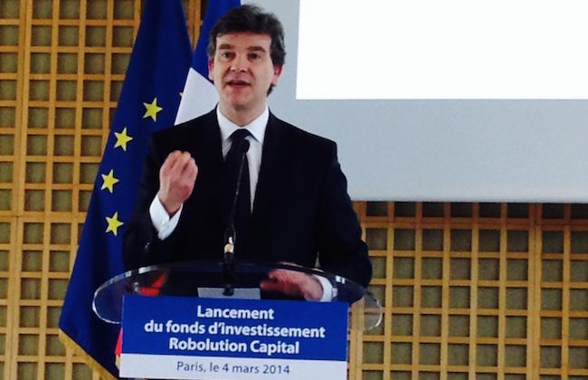 Photo de 80 millions d'euros pour la robotique en France : «ces petites entreprises françaises vont bientôt devenir grandes» (Arnaud Montebourg)