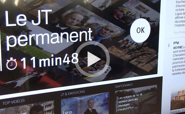 Photo de France Télévision se lance dans la «télévision augmentée»