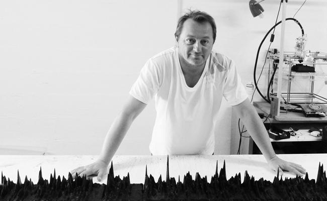 Photo de La start-up de la semaine : Gilles Azarro réalise des sculptures en impression 3D à partir de la voix