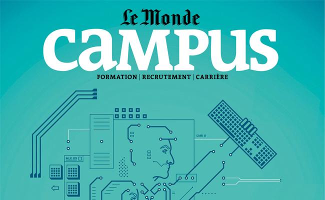 Photo de Le Monde s'allie à digiSchool pour le lancement d'une chaîne éducative