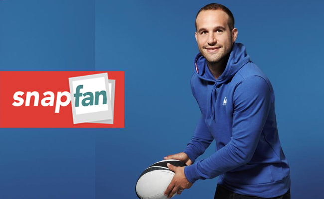 Photo de [Bon App'] Snapfan, l'application du rugbyman Frédéric Michalak : « je me lance dans l'aventure d'une start-up made in France »