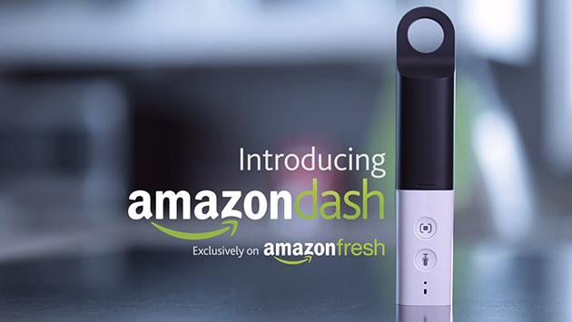 Photo de Amazon Dash, la nouvelle arme de Jeff Bezos dans la bataille des produits frais