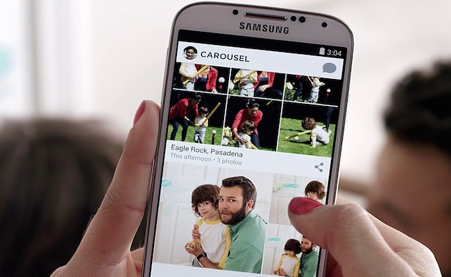 Photo de [Bon App'] Carousel, l'application qui rend mobiles vos contenus DropBox