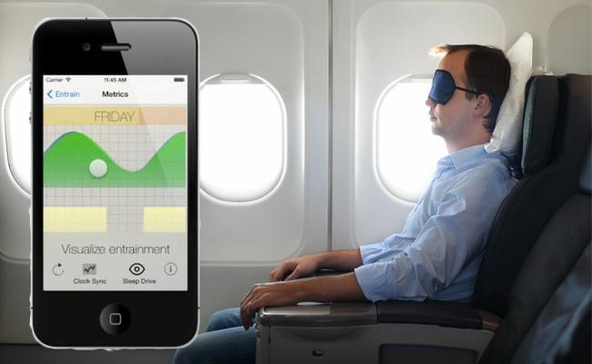 Photo de [Bon App'] Entrain, l'application pour réduire votre fatigue du décalage horaire