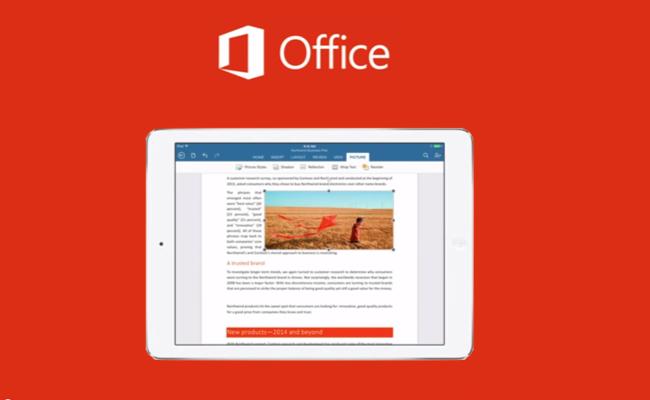 Photo de Microsoft Office pour iPad enregistre 12 millions de téléchargements dans le monde