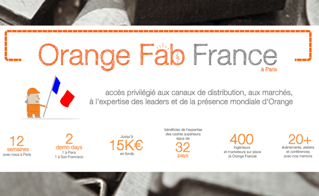 Photo de Les 7 start-ups sélectionnées par l'accélérateur Orange Fab pour sa première saison