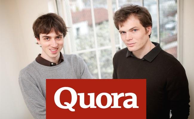 Photo de La plateforme de questions-réponses Quora lève 60 millions de dollars pour se relancer