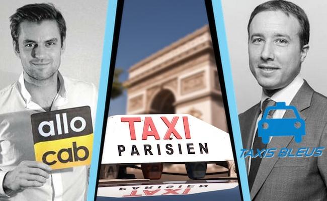 Photo de Taxis vs. VTC : Yanis Kiansky (Allocab) et Yann Ricordel (Taxis Bleus) réagissent au rapport Thévenoud