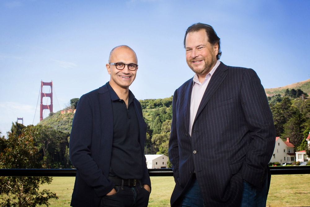 Photo de Microsoft et Salesforce signent un partenariat stratégique