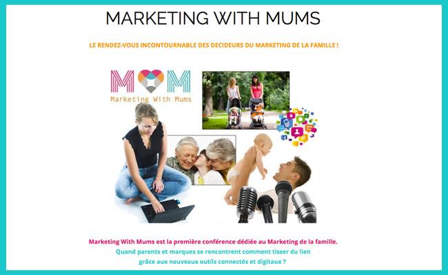 Photo de Marketing With Mums, la première journée de conférences dédiée à l'innovation marketing et à la parentalité !