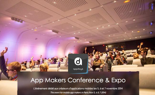 Photo de AppDays 2014, la conférence dédiée aux créateurs d'applications mobiles