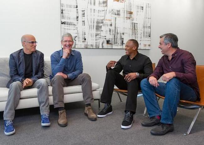 Photo de Rachat de Beats Electronics par Apple: 500 millions de dollars pour Beats Music