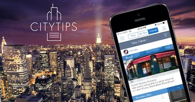 Photo de [Bon App'] Citytips, le TripAdvisor entre amis sur smartphone