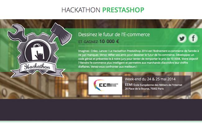 Photo de Hackathon PrestaShop, dessinez le futur de l'e-commerce !