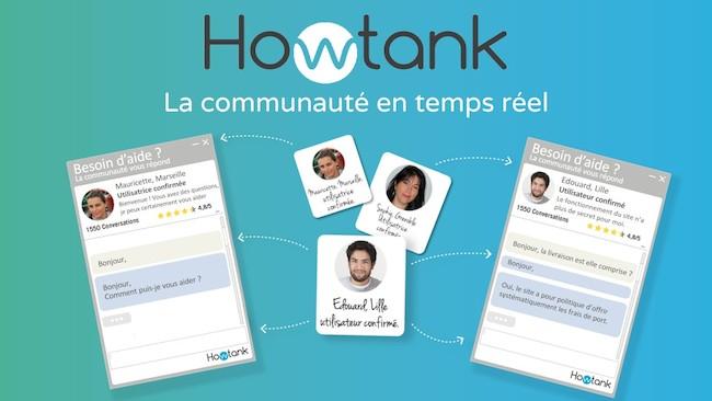 Photo de La start-up du jour : Howtank, un chat communautaire pour guider les visiteurs