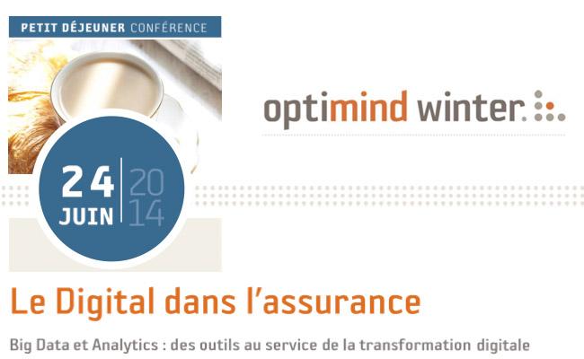 Photo de Le Digital dans l'assurance // Big Data et Analytics : des outils au service de la transformation digitale