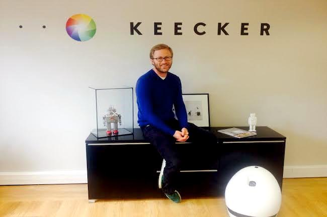 Photo de Keecker, le robot autonome français, convainc Niel et Granjon : «Nous voulons en faire le futur compagnon de la maison»