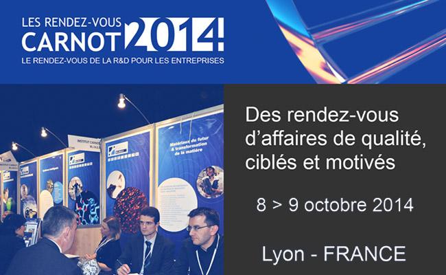Photo de Les Rendez-vous Carnot 2014, le rendez-vous de la R&D pour les entreprises