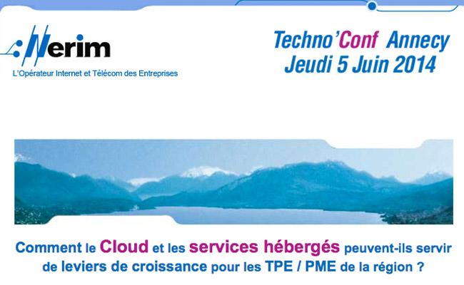 Photo de Techno'Conf, les ateliers d'information sur les problématiques IT des entreprises